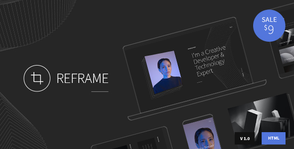 [Free Download] Reframe – Personal One Page Portfolio HTML Template (Nulled) [Latest Version]