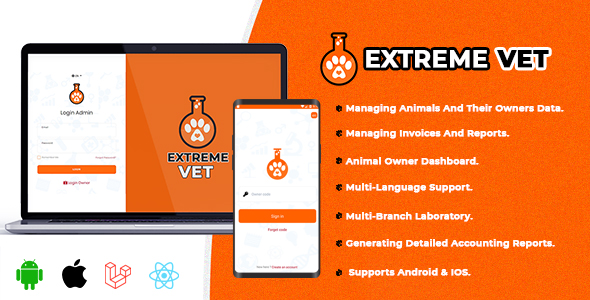 [Free Download] Extreme VET – Veterinary laboratory management system (Nulled) [Latest Version]