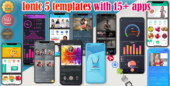 [Free Download] ionic 5/6 themes bundles / ionic 5 templates with 15+ apps (Nulled) [Latest Version]