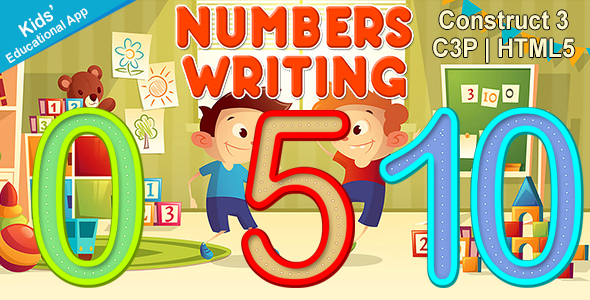[Free Download] Numbers Writing App (Construct 3 | C3P | HTML5) Kids Educational App (Nulled) [Latest Version]