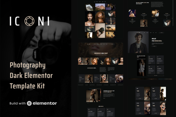 [Free Download] Iconi – Photography & Portfolio Elementor Template Kit (Nulled) [Latest Version]