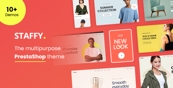 [Free Download] Staffy – The Multipurpose eCommerce Prestashop Theme (Nulled) [Latest Version]