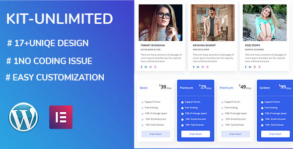 [Free Download] kit unlimited – Elementor Page Builder Addon (Nulled) [Latest Version]