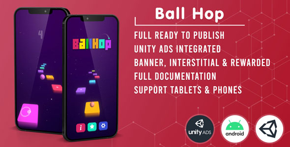 [Free Download] Ball Hop (Unity Game Template + Unity Ads) (Nulled) [Latest Version]
