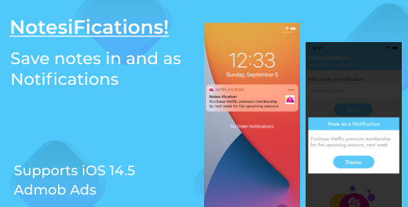 [Free Download] NotesiFications – Saves Notes in and as Notifications in Notification Center (Nulled) [Latest Version]