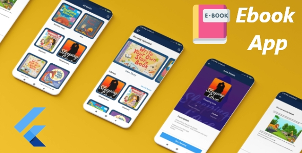 [Free Download] E-Book User app Flutter With Firebase Firestore (Nulled) [Latest Version]