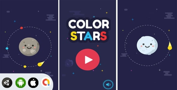 [Free Download] Color Stars – Unity Complete Game (Nulled) [Latest Version]