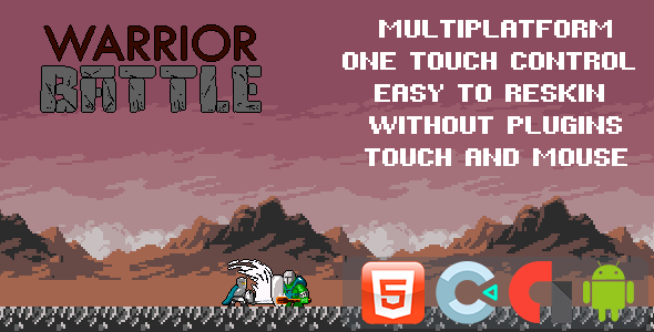 [Free Download] Warrior Battle – Template for Construct 3 (Nulled) [Latest Version]