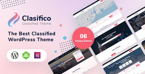 [Free Download] Clasifico – Classified Ads WordPress Theme (Nulled) [Latest Version]
