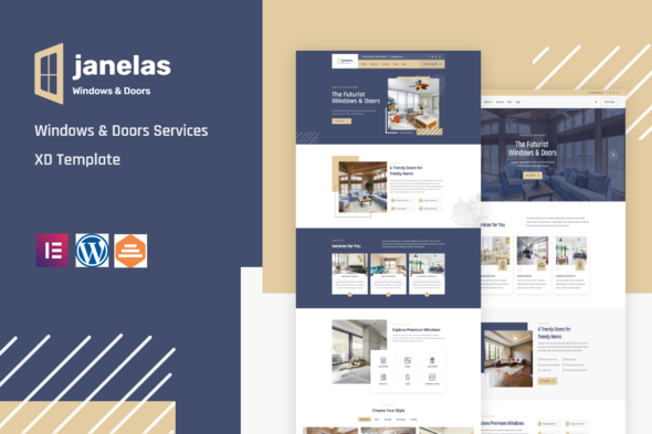 [Free Download] Janelas – Windows & Doors Services Elementor Template Kit (Nulled) [Latest Version]