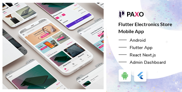 [Free Download] Paxo – Flutter Electronics Store Mobile App + React Next Admin Dashboard (Nulled) [Latest Version]