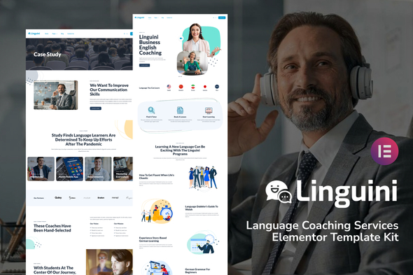 [Free Download] Linguini – Language Coaching Service Template Kit (Nulled) [Latest Version]