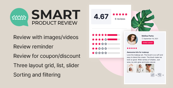 [Free Download] Smart Product Review For WooCommerce (Nulled) [Latest Version]