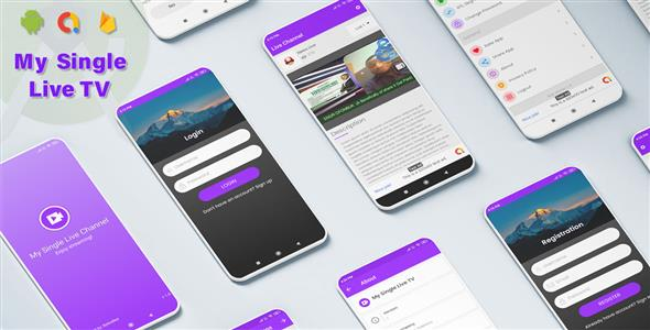 [Free Download] My Single Live TV Android App with Admin Panel (Nulled) [Latest Version]