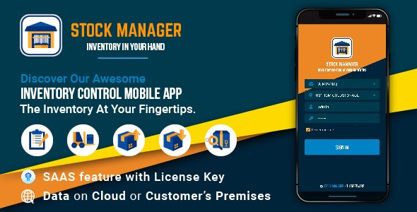 [Free Download] Stock Manager – Inventory Management Application With SaaS Feature (Nulled) [Latest Version]