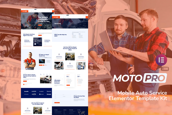 [Free Download] Motopro – Mobile Auto Service Elementor Template Kit (Nulled) [Latest Version]
