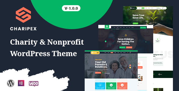 [Free Download] Charipex – Charity & Nonprofit WordPress Theme (Nulled) [Latest Version]