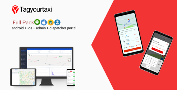 [Free Download] Tagyourtaxi – Taxi Application | Uber clone – Android + IOS + Dashboard (Nulled) [Latest Version]