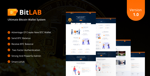 [Free Download] BitLab – Ultimate Bitcoin Wallet System (Nulled) [Latest Version]