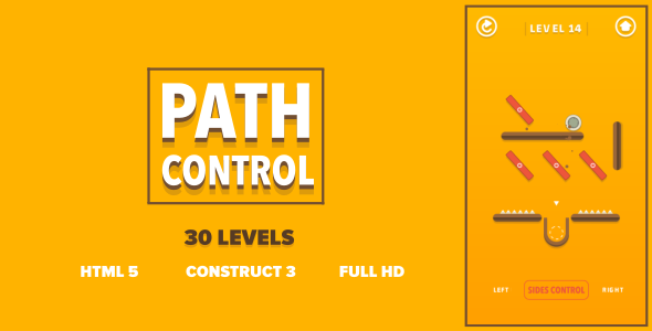 [Free Download] Path Control – HTML5 Game (Construct3) (Nulled) [Latest Version]