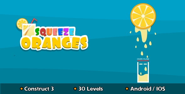 [Free Download] Squeeze Oranges – HTML5 Game (Construct 3) (Nulled) [Latest Version]
