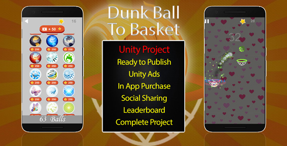 [Free Download] Dunk Ball To Basket (Nulled) [Latest Version]