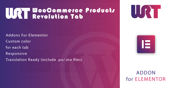 [Free Download] WooCommerce Products Revolution Tab for Elementor WordPress Plugin (Nulled) [Latest Version]