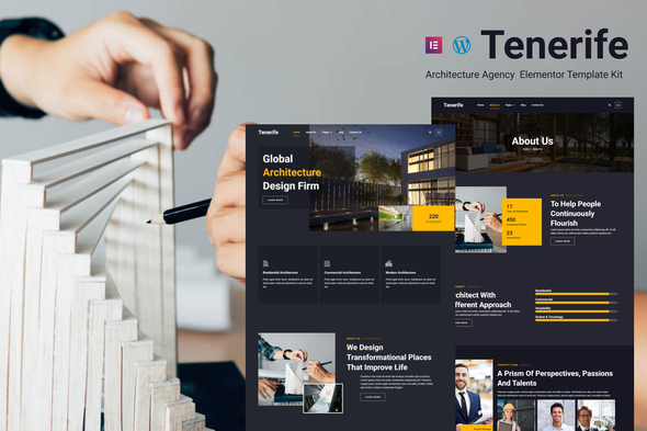 [Free Download] Tenerife – Architecture Agency Elementor Template Kit (Nulled) [Latest Version]
