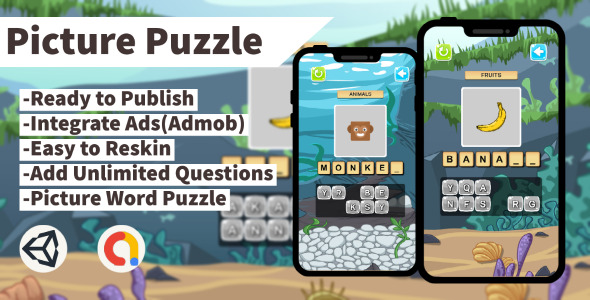 [Free Download] Picture Puzzle (Unity+Admob+Android+IOS) (Nulled) [Latest Version]