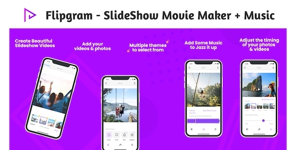 [Free Download] Flipgram – SlideShow Movie Maker + Music   Google AdMob   Subscription Plan   In App Purchase (Nulled) [Latest Version]