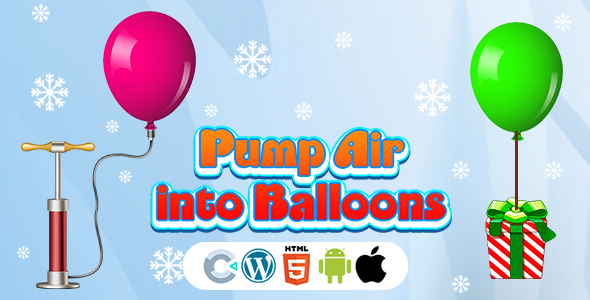 [Free Download] Pump Air into Balloon Game (Construct 3 | C3P | HTML5) Christmas Game (Nulled) [Latest Version]