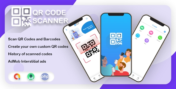 [Free Download] ScanQR – Android QR Scanner & Generator – Scan & Generate Tons of QR/Barcodes (Nulled) [Latest Version]