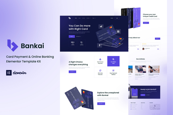 [Free Download] Bankai – Card Payment & Online Banking Elementor Template Kit (Nulled) [Latest Version]