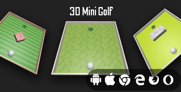 [Free Download] 3D Mini Golf  – Cross Platform Casual Golf Game (Nulled) [Latest Version]