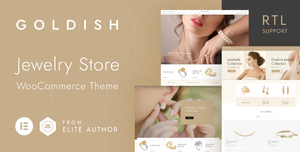 [Free Download] Goldish – Jewelry Store WooCommerce Theme (Nulled) [Latest Version]