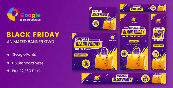 [Free Download] Sale Bag Woman Banner Set HTML5 Banner Ads GWD (Nulled) [Latest Version]