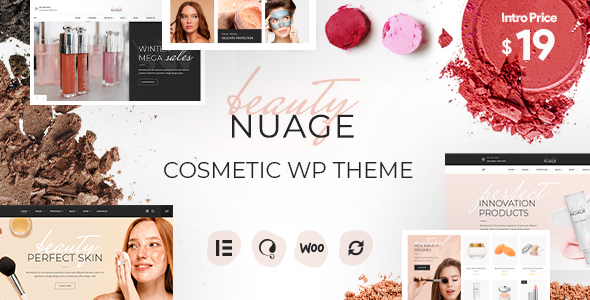 [Free Download] Nuage – Cosmetics & Beauty WordPress Theme (Nulled) [Latest Version]