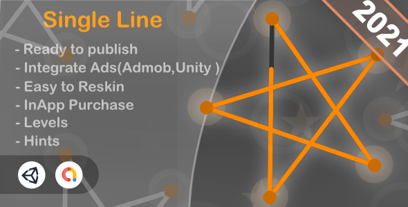 [Free Download] Single Line (Unity Game+Admob+iOS+Android) (Nulled) [Latest Version]