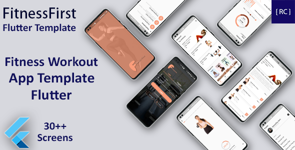 [Free Download] Home Workout Fitness Android App Template + iOS App Template | Flutter | Fitzone app (Nulled) [Latest Version]