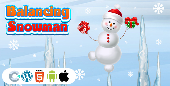 [Free Download] Balancing Snowman Game (Construct 3 | C3P | HTML5) Christmas Game (Nulled) [Latest Version]