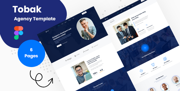 [Free Download] Tobak – Creative Business Agency Figma Template (Nulled) [Latest Version]