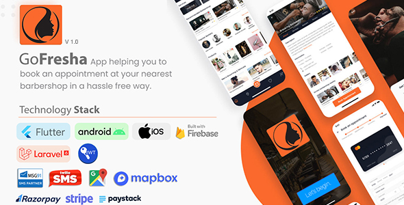 [Free Download] GoFresha | Nearby Salon, Spa & Barber Appointment Flutter App | Backend Included (Nulled) [Latest Version]