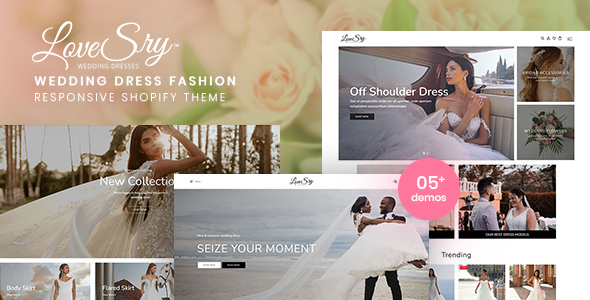 [Free Download] LoveSry – Wedding Dress Fashion Responsive Shopify Theme (Nulled) [Latest Version]