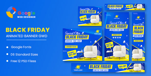 [Free Download] Black Friday Sofa HTML5 Banner Ads GWD (Nulled) [Latest Version]