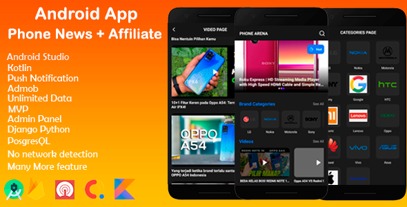 [Free Download] Android Phone News App with Admob and Affiliate programs (Nulled) [Latest Version]