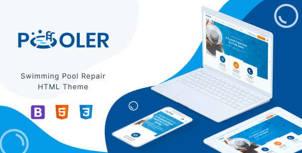 [Free Download] Pooler – Pool Services HTML Template (Nulled) [Latest Version]