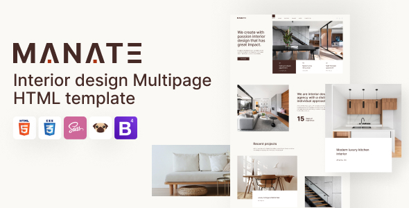 [Free Download] Manate – Interior Design HTML5 Template (Nulled) [Latest Version]