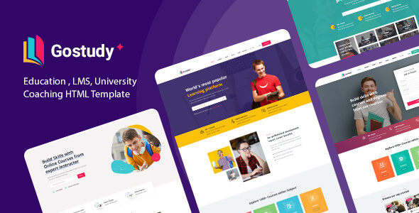 [Free Download] Gostudy – Education HTML Template (Nulled) [Latest Version]