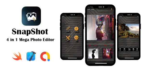 [Free Download] SnapShot – Mega Photo Editor   Google AdMob   In App Purchase   iOS Source Code (Nulled) [Latest Version]