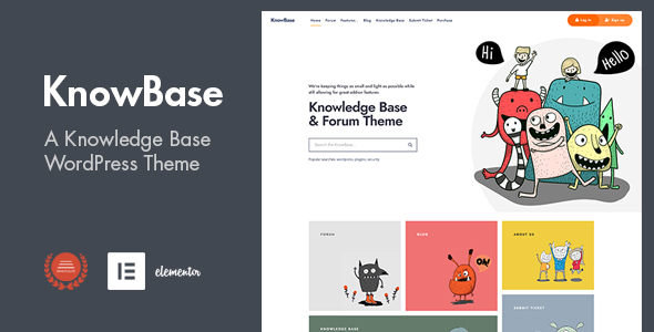 [Free Download] KnowBase – A Helpdesk & bbPress WordPress Theme (Nulled) [Latest Version]